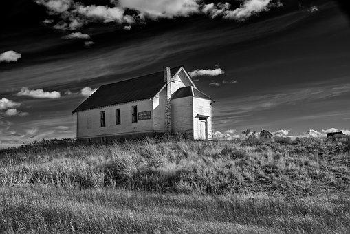 Barn, Farm, Rural, Abandoned Building