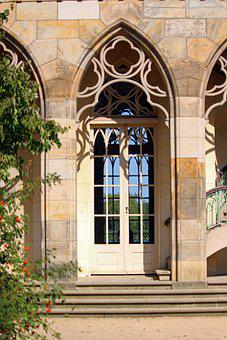Arches, Door, Building, Facade, Architecture