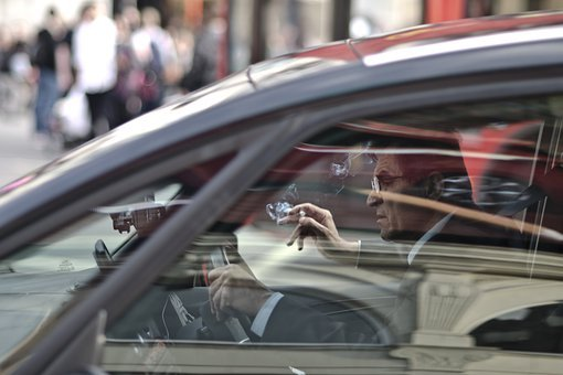 Driver, Car, Street, Vehicle, Auto, Automobile, Man