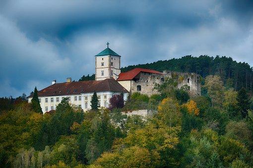 Castle, Palace, Fortress, Building, Riedegg Castle