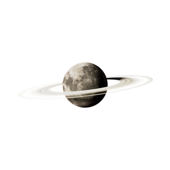 Moon, Rings, Celestial Body, Rings Of Saturn, Planet