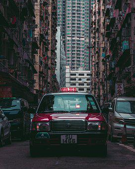 Taxi, Street, City, Taxi Cab, Automobile, Auto, Car