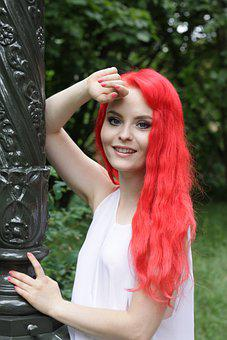 Hairstyle, Beauty, Girl, Hair Color, Red Hair, Glamour