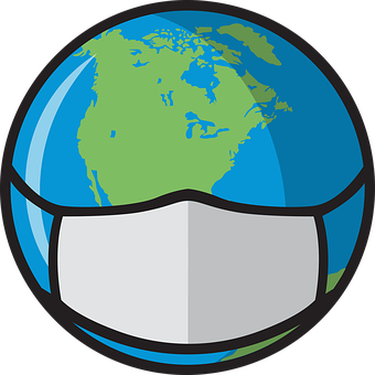 Globe, Mask, World, Covid, Coronavirus, Covid-19