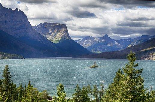Lake, Mountains, Nature, Mountain Range, Water, Scenery