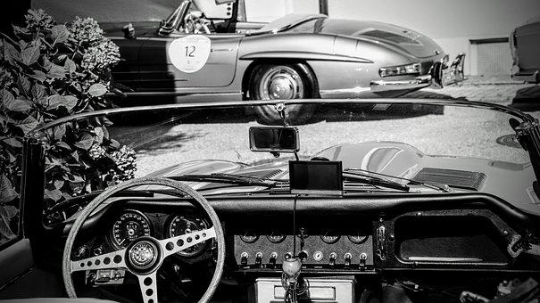 Cars, Oldtimer, Convertible, Old Cars, Classic, Retro