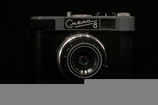Camera, Old Camera, Laugh, Photo, Old, Photographer