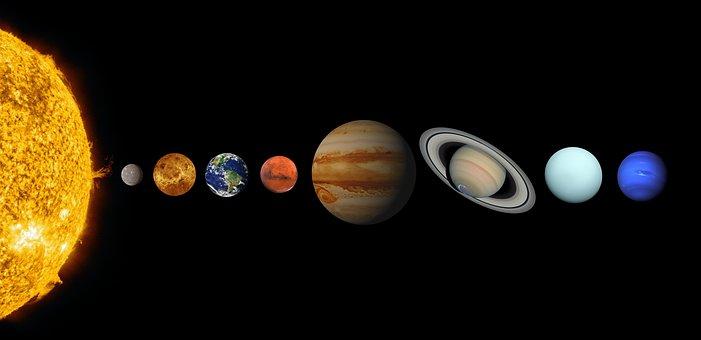 Solar System, Planets, Universe, Cosmos, Sun, Mercury