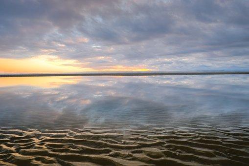 Ocean, Sea, Sand, Beach, Coast, Shore