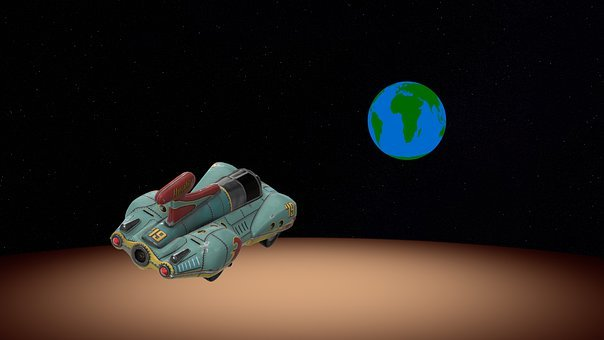 Spaceship, Space Travel, Space, Spacecraft, Outer Space