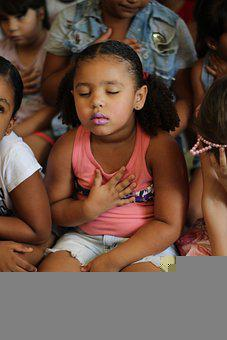 Girl, Child, Childhood, Thankful, Prayer, Religion