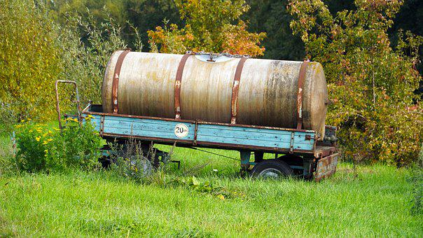 Trailers, Water Tank, Agriculture, Tank Wagon