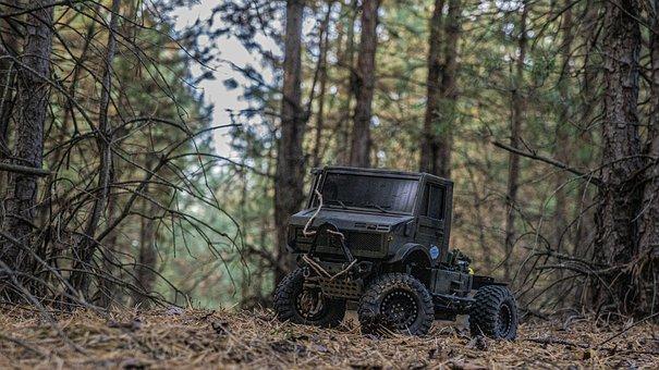Toy Car, Unimog, Off Road, Truck, Buggy