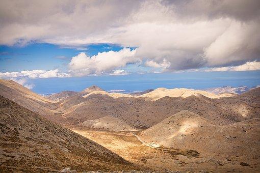 Mountains, Rocks, Clouds, Nature, Sky, Panorama, View