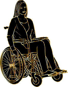 Woman, Wheelchair, Disabled, Handicapped, Disability