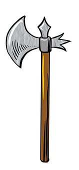 Battle Axe, Weapon, Sword, Warrior