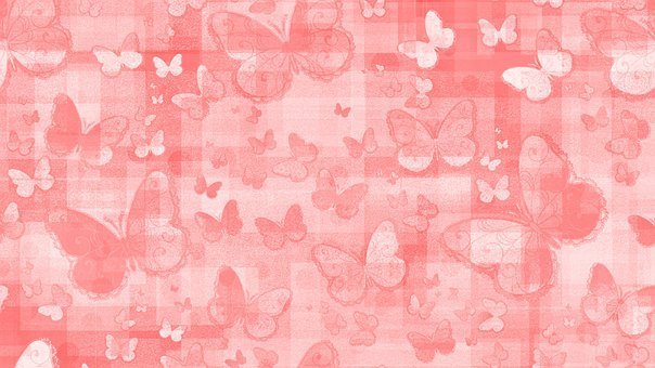 Butterflies, Insect, Pattern, Design, Background