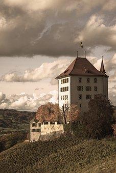 Castle, Building, Landmark, Tourist Attraction