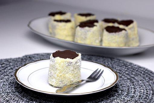 Coconut, Cakes, Small Cake, Mini Cake, Coconut Cakes