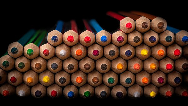 Pencils, Colorful, Color Pencils, Coloring Materials
