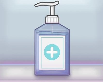 Soap, Disinfectant, Dispenser, Gel