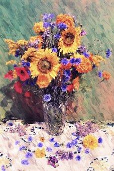 Flowers, Floral, Vase, Flower Arrangement, Bouquet