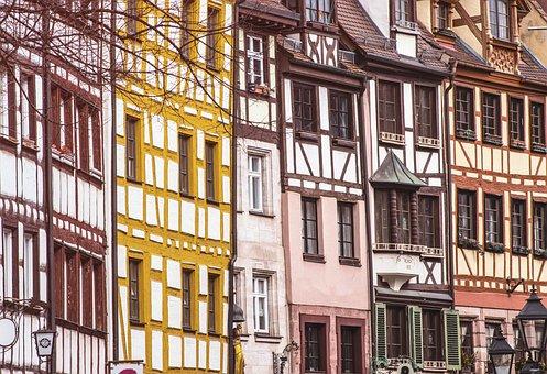 Buildings, Street, City, Houses