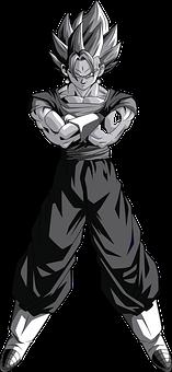 Vegeta, Goku, Anime, Japanese, Comic, Series, Man