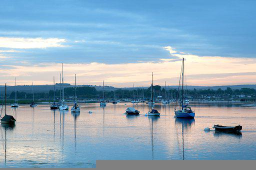 Port, Boats, Bay, Harbor, Yachts, Sailboats, Water