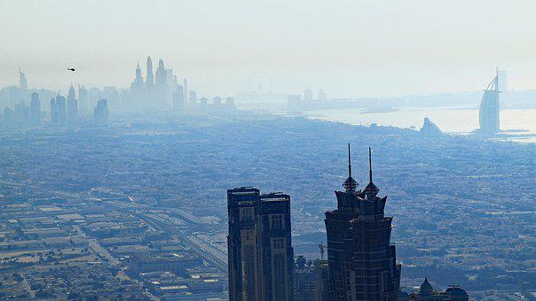 Dubai, Emirates, Skyline, City, Skyscrapers