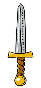 Sword, Weapon, Warrior, Armor, Medieval