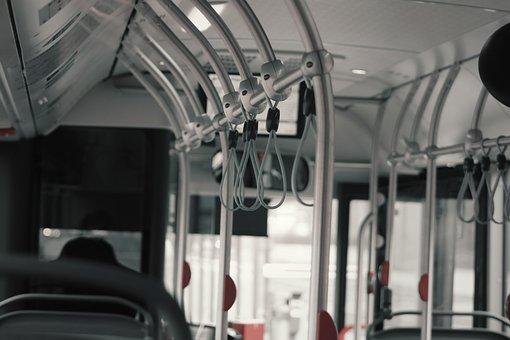 Bus, Handles, Interior, Transport, Automotive