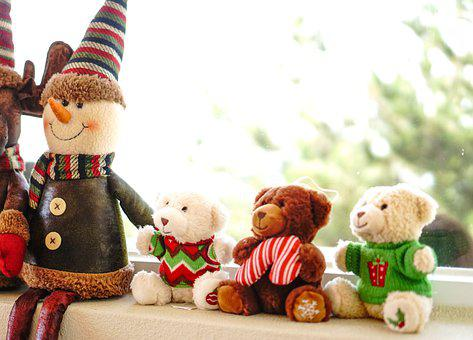 Teddy Bears, Dolls, Stuffed Toys, Plush, Toys, Bears