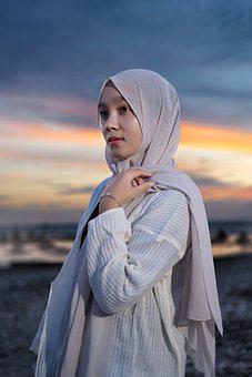 Girl, Hijab, Model, Portrait, Woman, Muslim