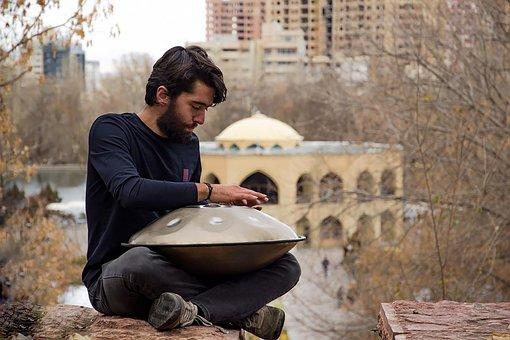 Man, Hang Drum, Musician, Sound, Hand Pan, Homa Drum