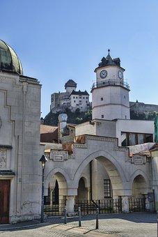 Castle, Monument, Gate, Entrance, Architecture, History