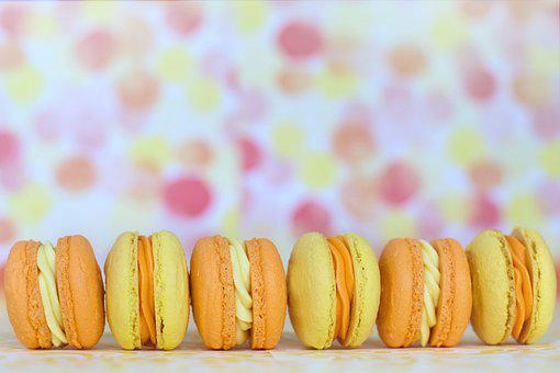 Macarons, Desserts, Pastries, Sweets, French Pastries