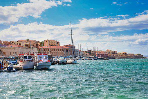 Boats, Port, Sea, Buildings, Architecture, Vacations