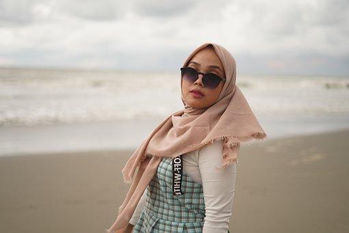 Girl, Fashion, Hijab, Portrait, Beauty, Beautiful