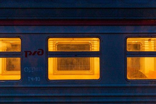 Railway, Train, Windows, Travel, Transport