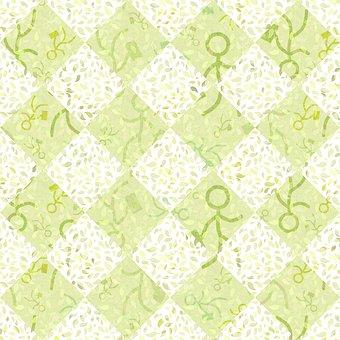 Pattern, Seamless, Tile, Briefcase, Handbag, Holding