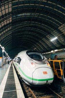 Train, Railway Station, Railway, Transport, Speed