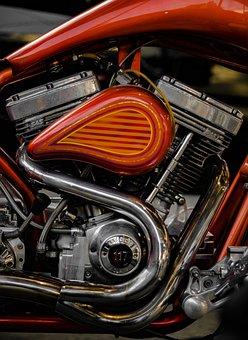 Motorcycle, Motor, Engine, Machine, Vehicle, Oldtimer