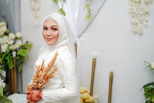 Girl, Bride, Fashion, Hijab, Veil, Portrait, Beauty