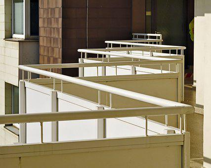 Railings, Apartment, House, Apartment Complex