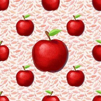 Fish, Apples, Red Apples, Rosh Hashanah