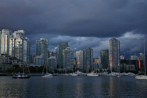 City, Port, Bay, Sea, Water, Harbor, Buildings