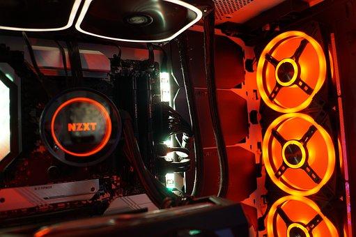 Fan, Computer, Pc, Build, Interior, Hardware
