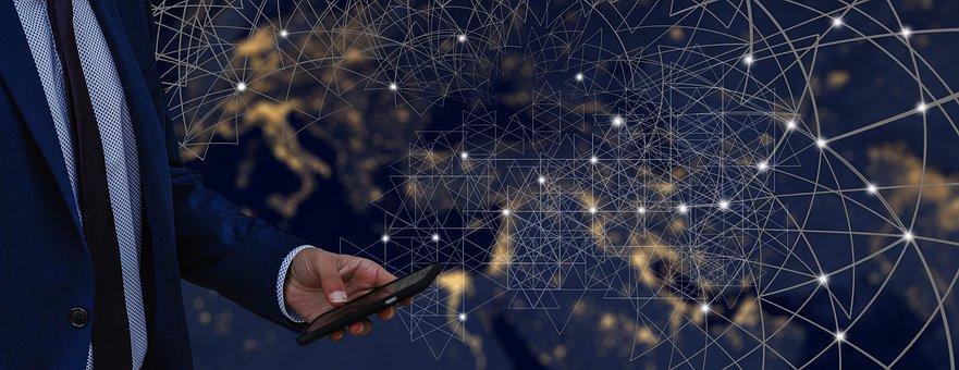Smartphone, Mobile Phone, Man, Businessman, Control