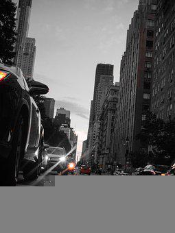 Street, Road, Cars, Traffic, Buildings, City